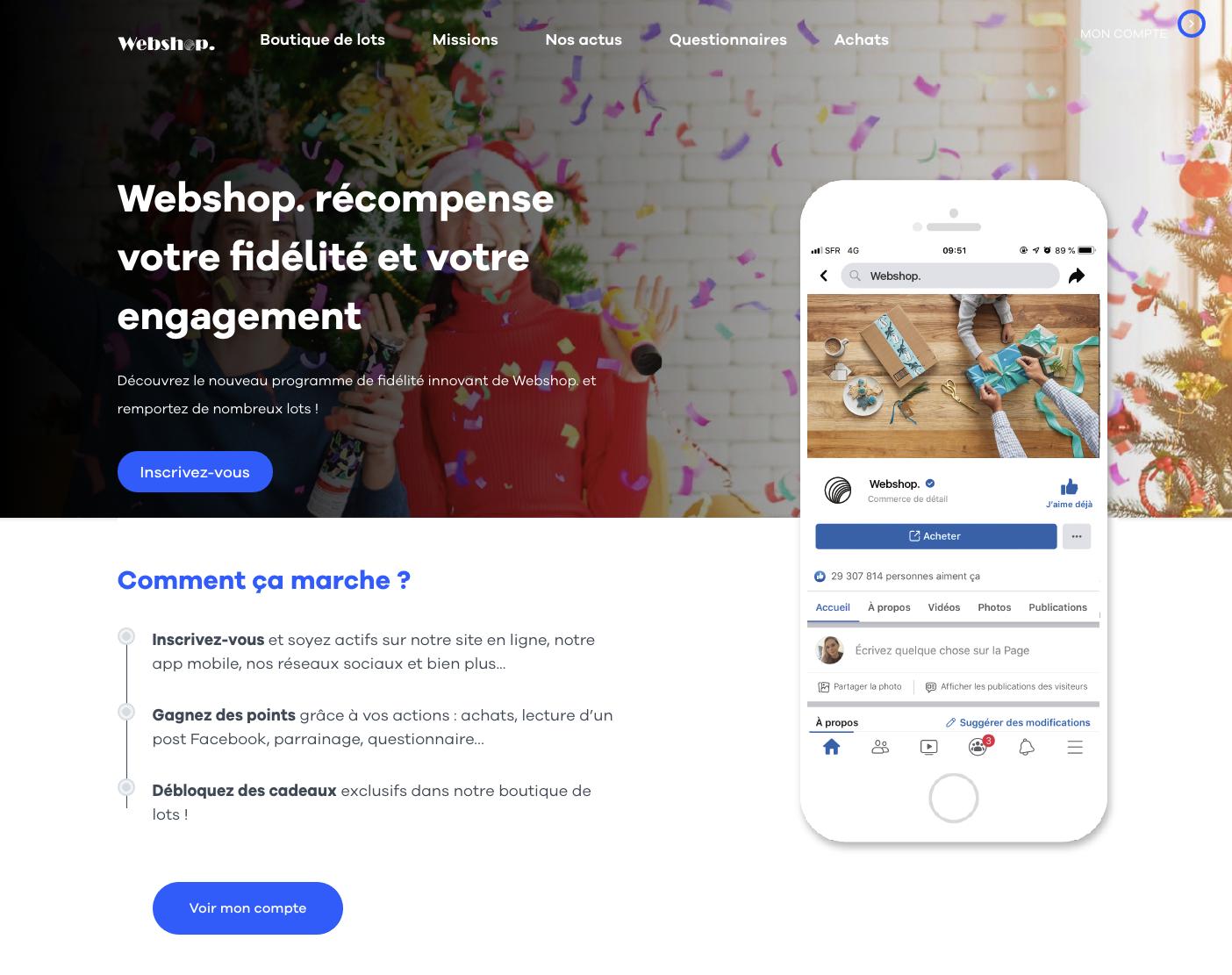 mokup webshop